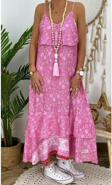 Robe Manon Rose Primavera