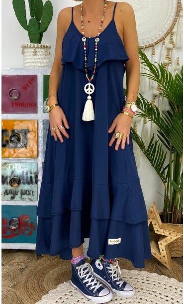 Robe Manon Bleu Marine