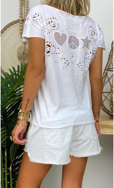 T-Shirt Anton Blanc Signs