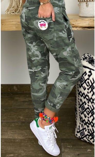 Jogg Joe Sweat Kaki Camouflage