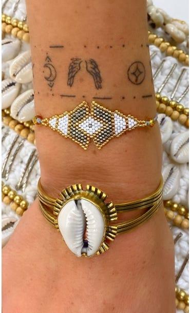 Bracelet Maiana Gris