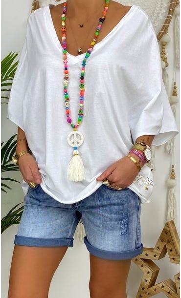 T-Shirt Farah Ultra-Light Blanc