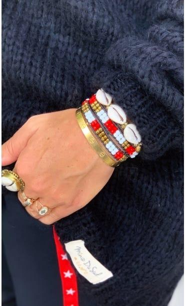 Bracelet Indra Rouge