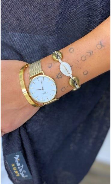 Bracelet De Cheville Enoha Or
