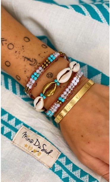 Bracelet Indra Bleu Turquoise
