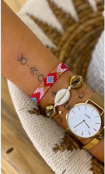 Bracelet Siam Rouge