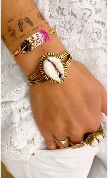 Bracelet Enata Rose Fuchsia