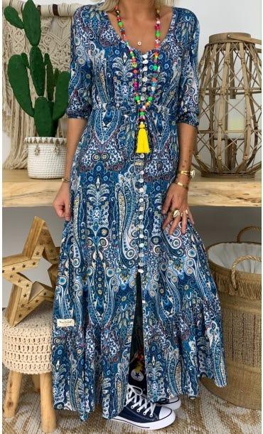 Robe Lola Bleu Keema