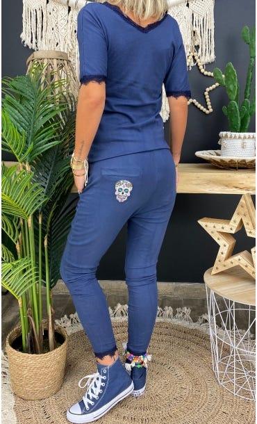 Combi Maria MC Ultra-Light Bleu Marine