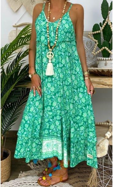 Robe Manon Vert Primavera