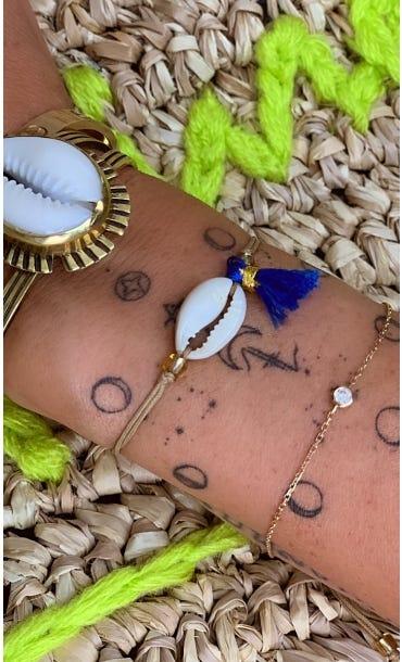 Bracelet Adem Bleu Electrique