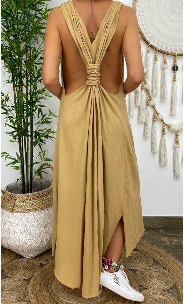 Robe Jasmine Camel