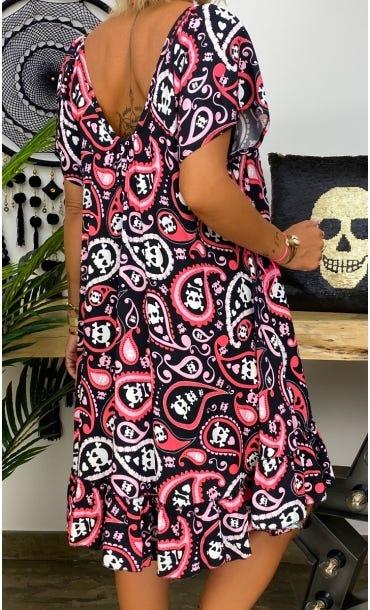 Petite Robe Tess Noir Pericolo Cachemire
