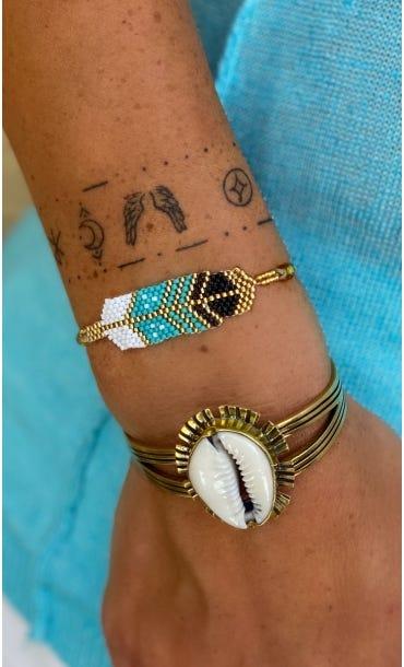 Bracelet Enata Bleu Turquoise