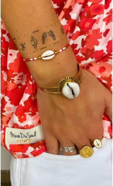 Bracelet Thao Rouge