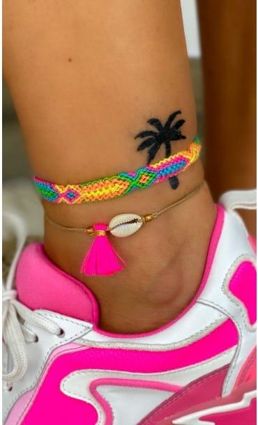 Bracelet Adem Rose Fluo