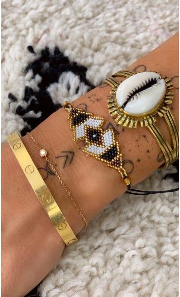 Bracelet Maiana Noir