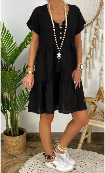 Petite Robe Kara Lin Noir