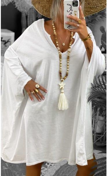 Petite Robe Sasha Blanc