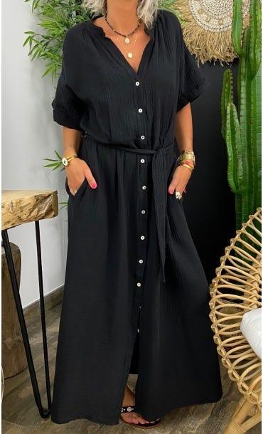 Robe Agathe Noir