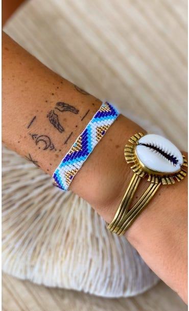 Bracelet Siam Bleu Turquoise