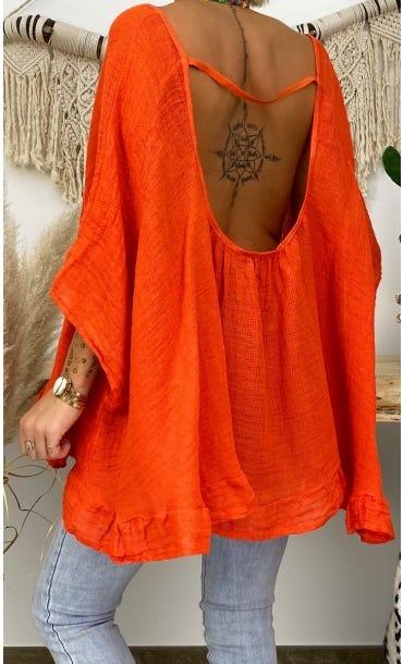Tunique Joana Orange