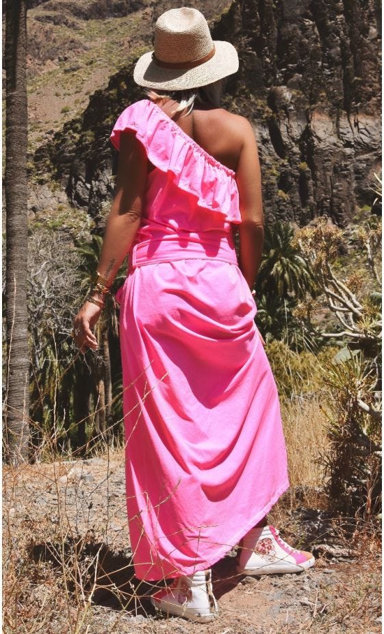 Robe Aliana Ultra-Light Rose Fluo