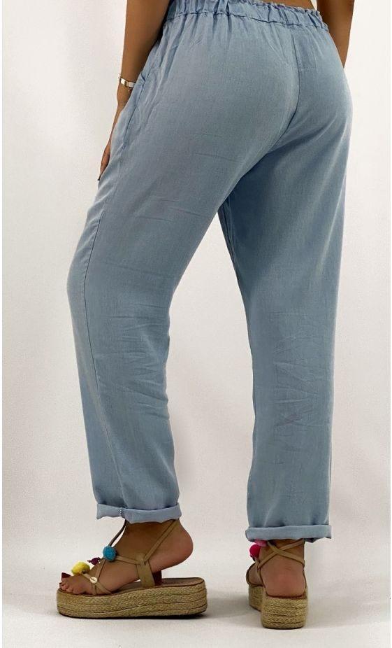 Pantalon Lilian Jean's Bleach