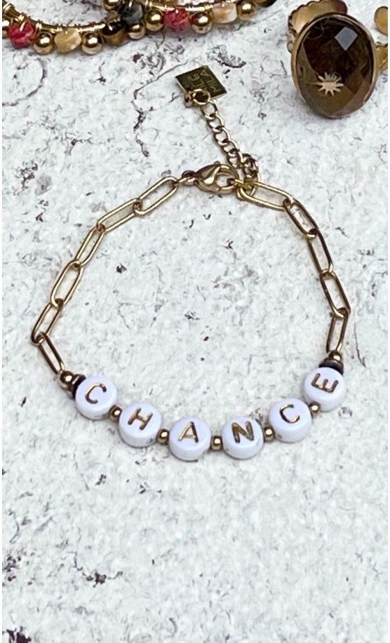 Bracelet Joris Doré  #CHANCE