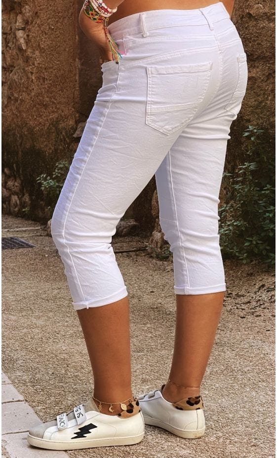 Pantacourt Riley Blanc