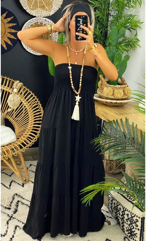 Robe Juliana Noir