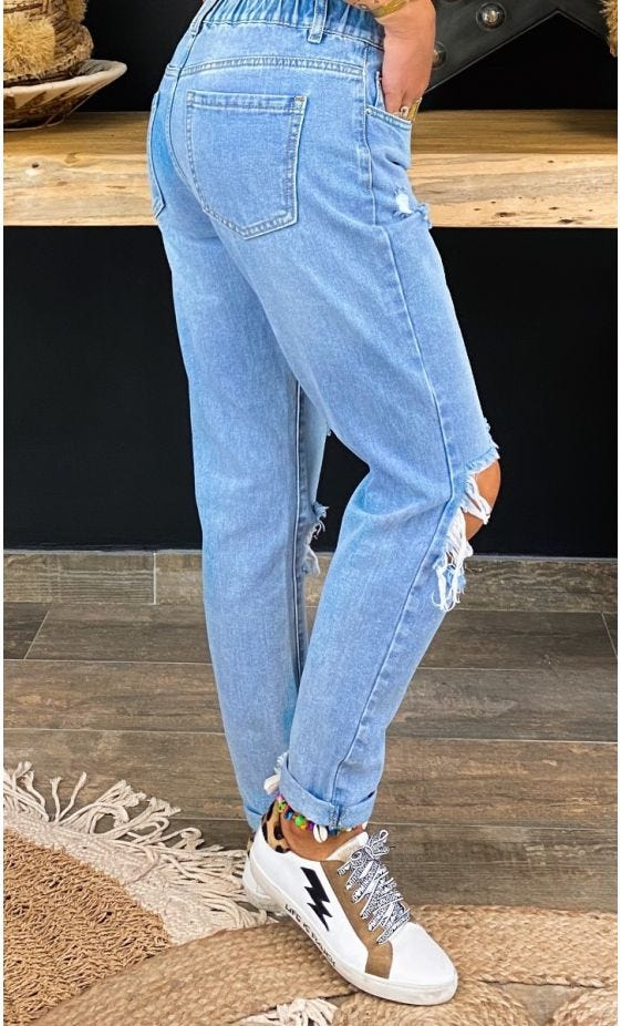 Jean's Meddy Used Denim