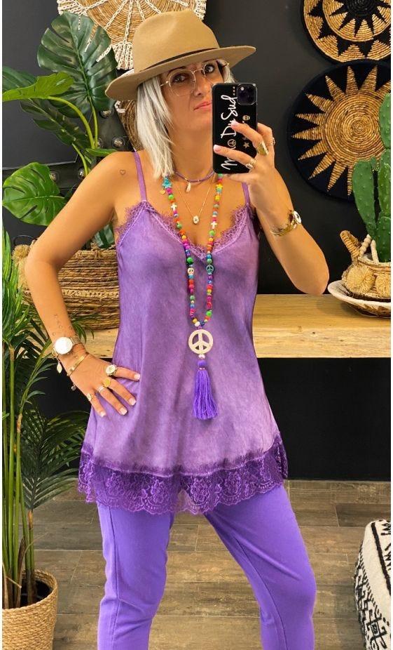 Caraco Izzy Violet