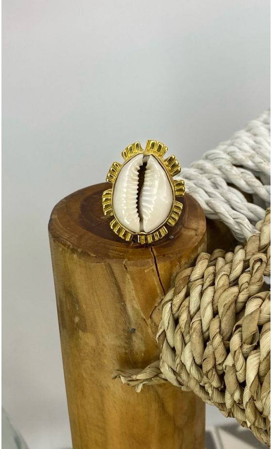 Bague Nofy Coquillage