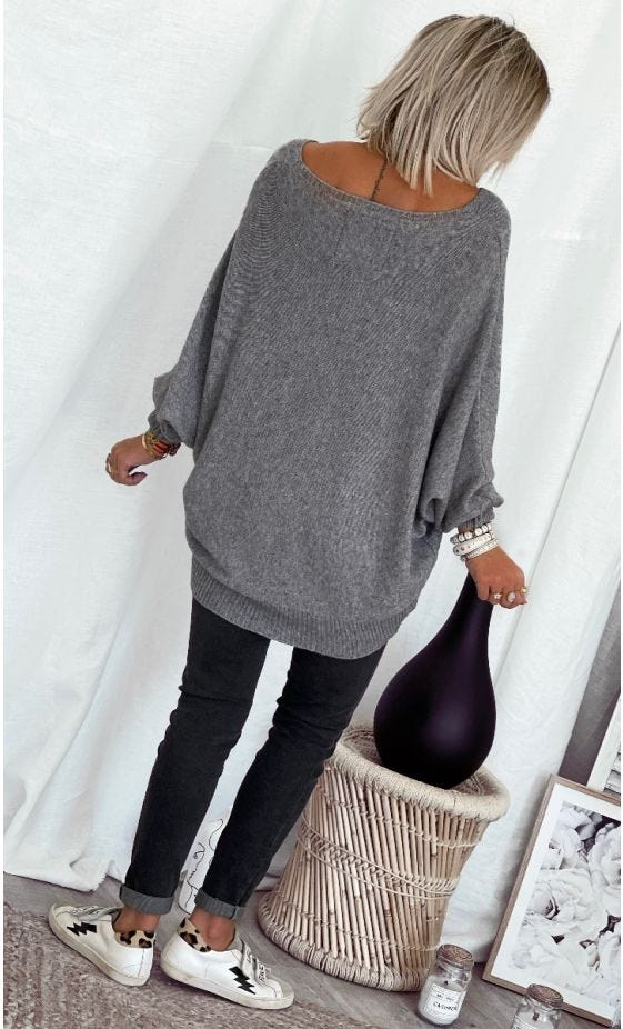 Pull Rayan Gris