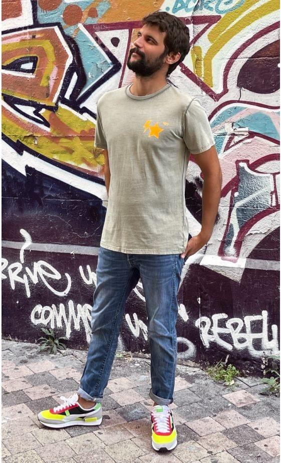 T-Shirt Mayron Kaki MDS Orange