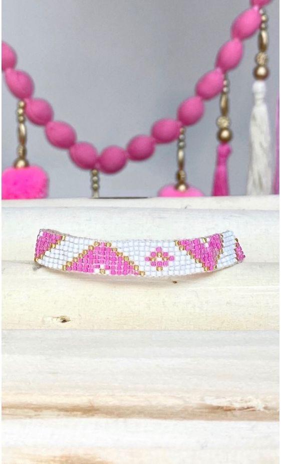 Bracelet Siam Rose