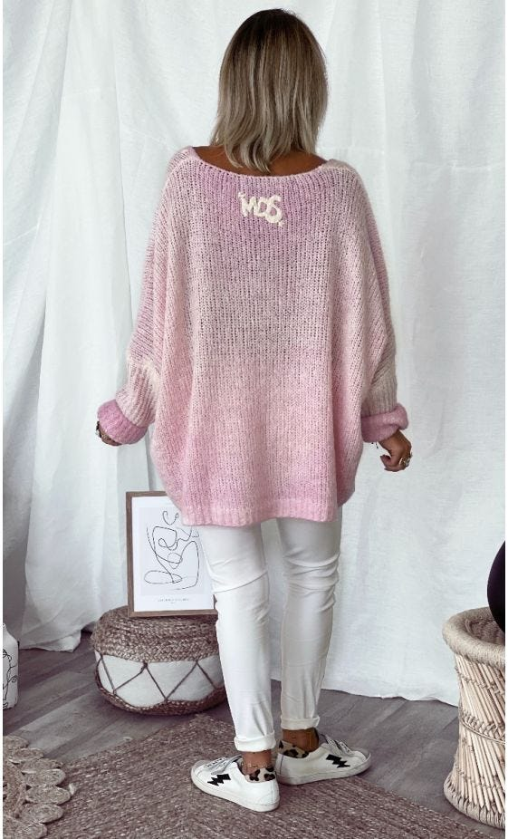 Pull Zack Oversize Rose Made With Love