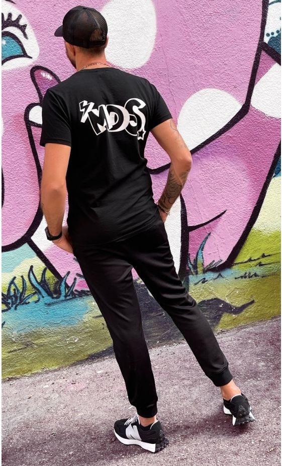 T-Shirt Mayron Noir MDS Blanc