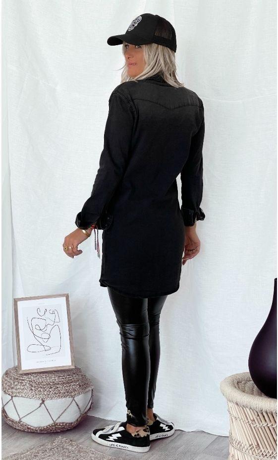 Chemise Olivia Jean's Used Noir