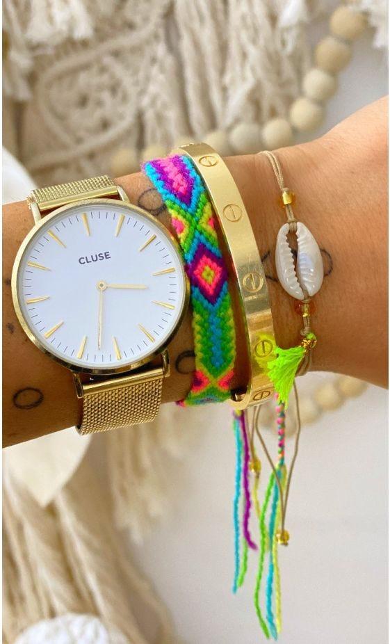Bracelet Adem Jaune Fluo