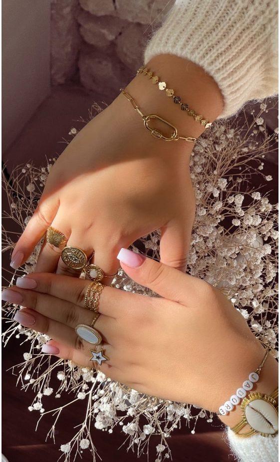 Bracelet Ayden Doré Link Amour