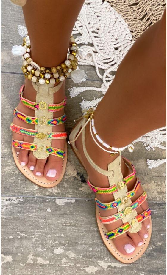Sandales Roma Gustavo Beige