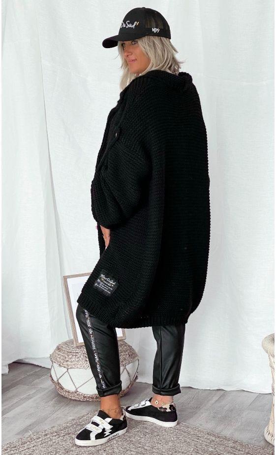 Gilet Luis Oversize Noir