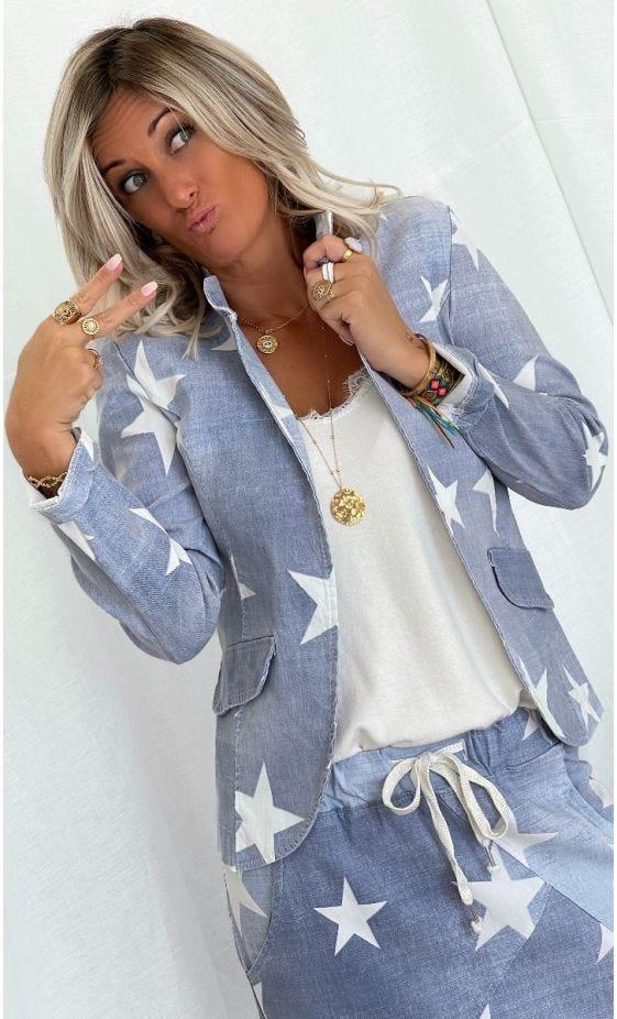 Veste Alicia Bleu Star