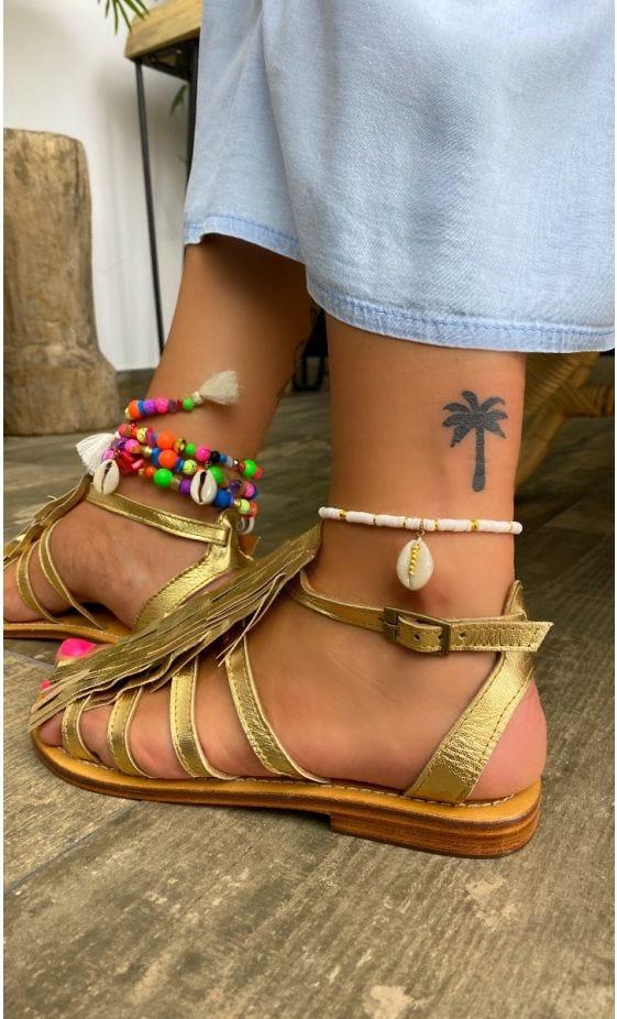 Sandales Clélie Or