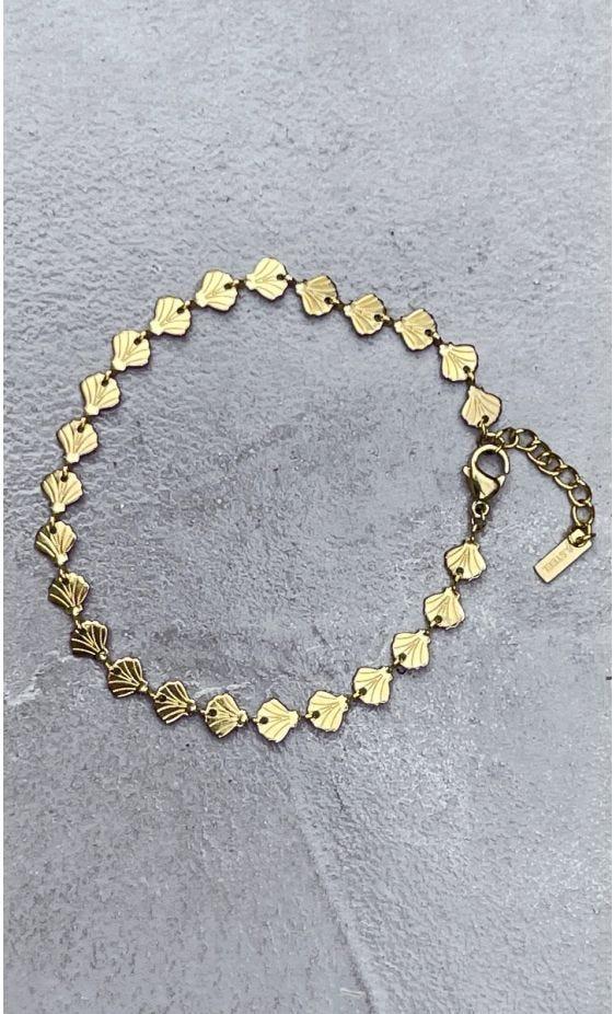Bracelet Sylvie Doré Coquillage