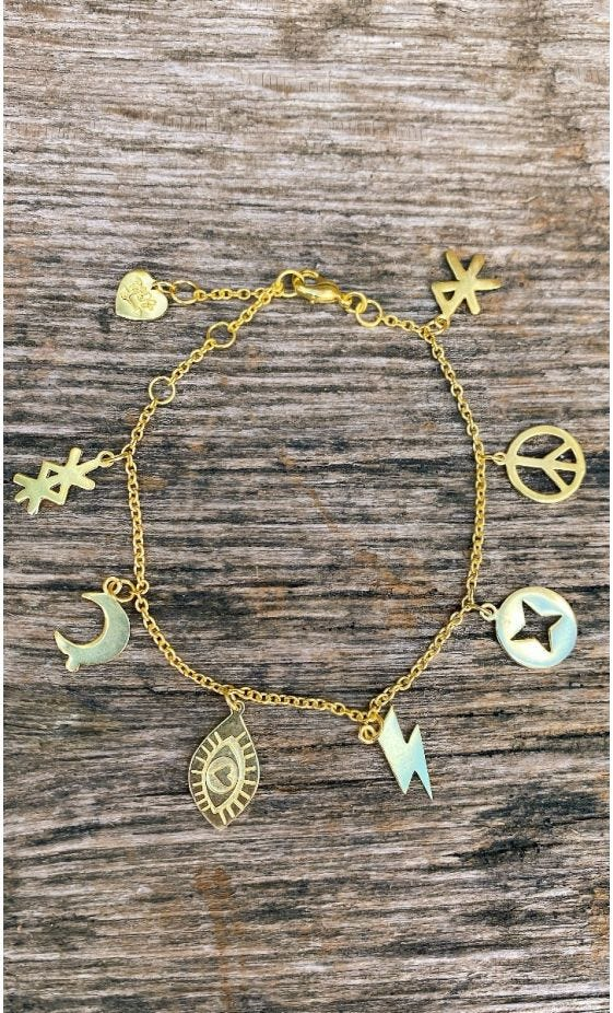 Bracelet Loétana Love Signs