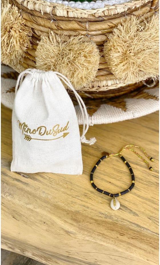 Bracelet De Cheville Apsara Noir