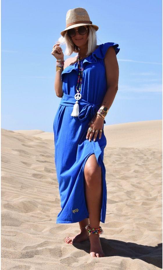Robe Aliana Ultra-Light Bleu Electrique